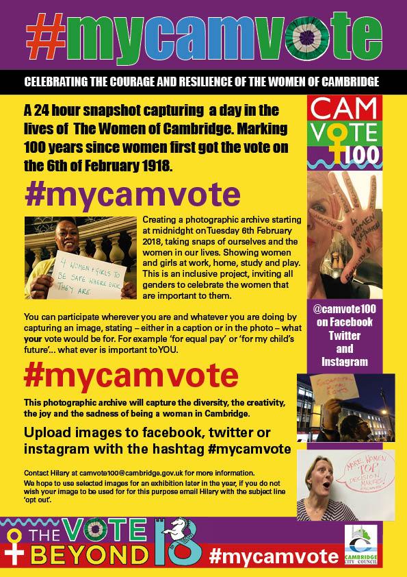 mycamvote poster