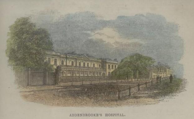 Addenbrookes c1840