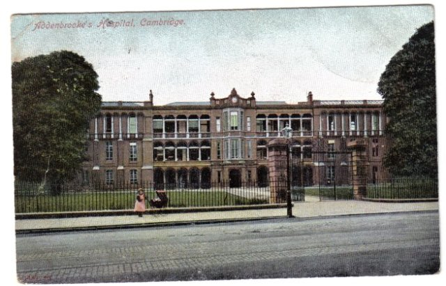 Addenbrookes Hospital c1900