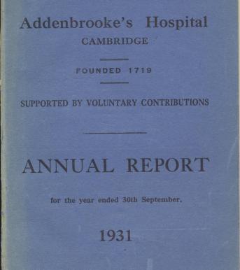Annual Report 1931 001