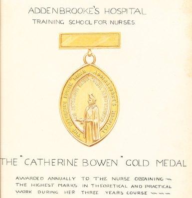 Catherine Bowen medal